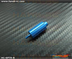 Hawk Creation CNC Metal Roller Button For Spektrum DX6i,7S,8,9 (Blue)