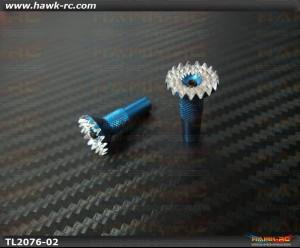 Tarot Futaba/Spektum DX7S/8 TX Rocker Stick Ends (Blue)
