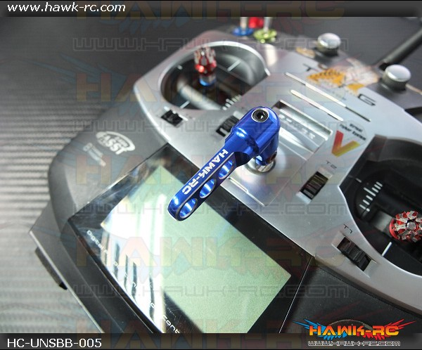 Hawk Creation Universal Transmitter Balancer Blue (Futaba, JR, Spektrum....etc)(Not for Frsky X9D)