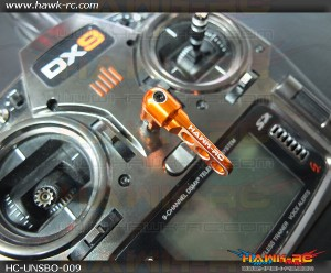 Hawk Creation Universal Transmitter Balancer Orange (Futaba, JR, Spektrum....etc)(Not for Frsky X9D)