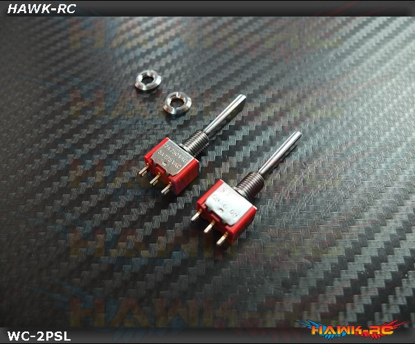 TX Switch 2PS Long TOG (2pcs) Compatible For Most Brand (Spektrum,JR)