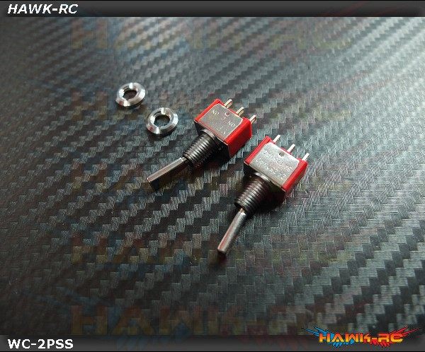 TX Switch 2PS Short TOG (2pcs) Compatible For Most Brand (Spektrum,JR)