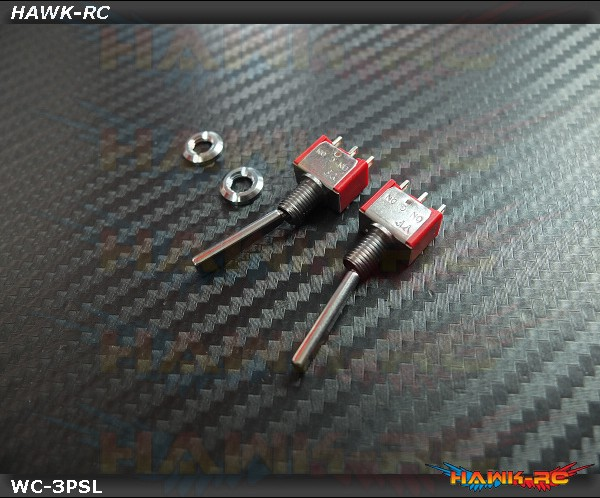 TX Switch 3PS Long TOG (2pcs) Compatible For Most Brand (Spektrum,JR)