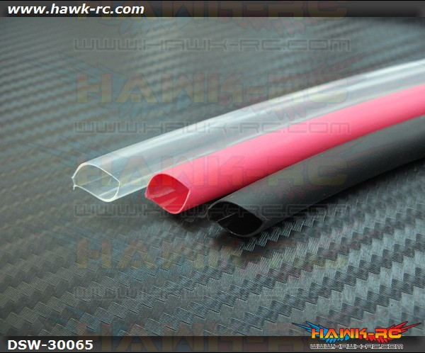 Adhesive Lined Heat Shrink Tubing (R/B/T, 6.5mm Inner)
