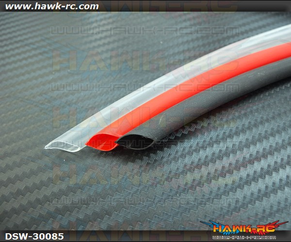 Adhesive Lined Heat Shrink Tubing (R/B/T, 8.5mm Inner)