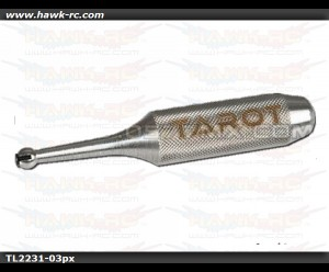 Tarot 4.75mm Ball Link Sizing Tool (Silver) TL2231-03