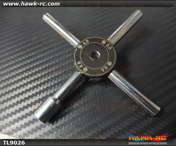 Tarot Hexagon Socket Cross Combination Sleeve