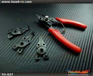 C-Ring C-CLIP Removal Tool For Mikado Logo (Red)