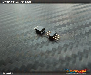 Hawk Creation Micro Size Tail Motor 3pin Plug Set (2Sets)