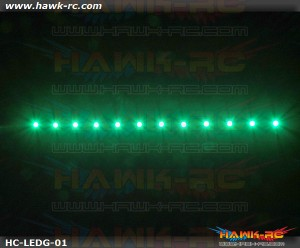 Night Flying LED TAPE (Green, 7.4V~12V 2~3S Lipo)