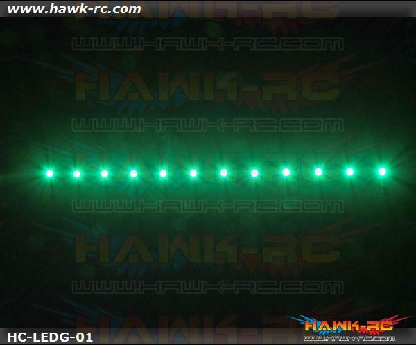 Night Flying LED TAPE (Green, 7.4V~12V 2~3S Lipo)