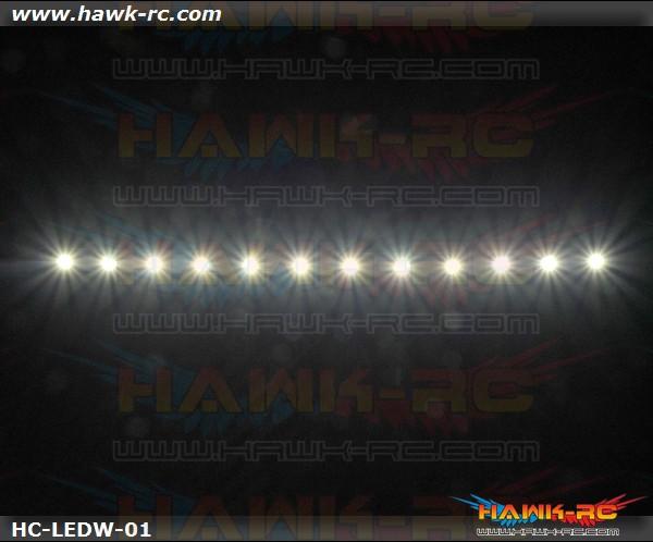 Night Flying LED TAPE (White, 7.4V~12V 2~3S Lipo)