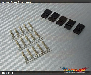 JR Servo Plug (5pcs)