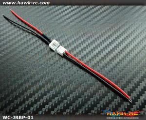 JR/Spektrum Transmitter Battery Connector Set (Female & Male)