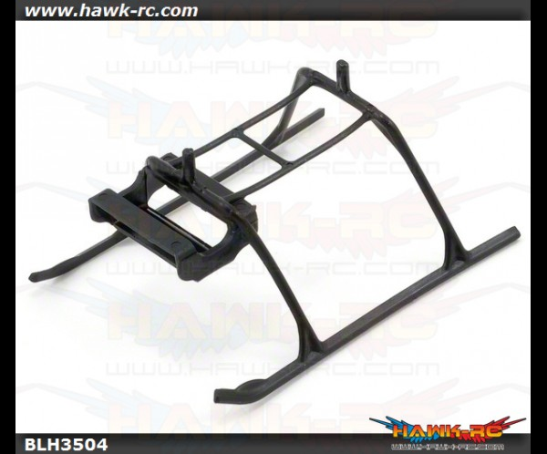 E-Flite Landing Skid and Battery Mount: mCP X
