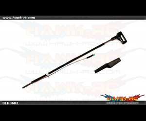 Tail Boom Assembly w/Tail Motor/Rotor/Mount:mCPX/2