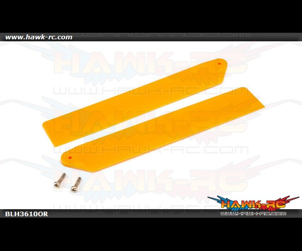 Hi-Performance Main Rotor Blade Set Orange mCP X/V2