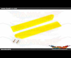Hi-Performance Main Rotor Blade Set Yellow mCP X/V2