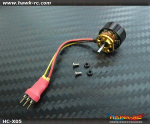 Hawk Creation X05 14000KV BLS Outrunner Motor (1.5mm Shaft) For mCP X/2, Mini CP