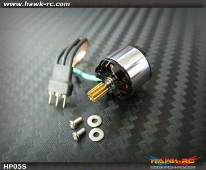Hawk Creation HP05S 14000KV Outrunner +9TXL For mCP X/V2, Mini CP
