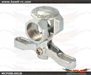 MicroHeli Precision CNC Aluminum Main Rotor Hub w/Button - MCPXBL