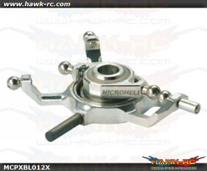 MicroHeli Precision CNC Aluminum X Swashplate - MCPXBL