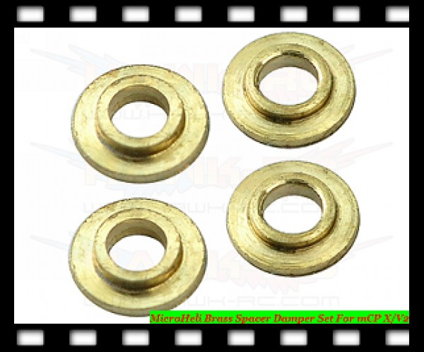 MicroHeli Brass Spacer Damper Set For mCP X/V2