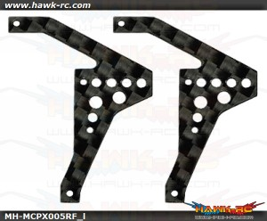 MicroHeli Carbon Fiber Rear Frame set mCPX