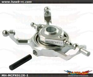 MicroHeli Precision CNC Alu X Swashplate (Silver) For mCP X/V2