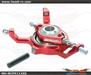MicroHeli Precision CNC Alu X Swashplate (Red) For mCP X/V2