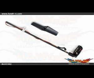 Tail Boom Assembly with Tail Motor/Rotor/Mount: nCP X