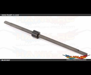 Carbon Fiber Main Shaft w/Collar & Hardware: nCP X