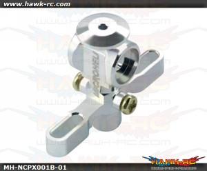 MicroHeli Aluminum Main Rotor Hub w/ Button - Nano CP X