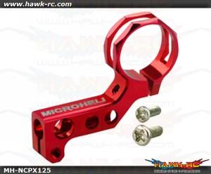 MicroHeli Aluminum Tail Motor Mount (RED) - Nano CP X